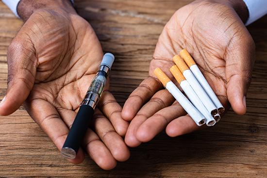 FUMER VS VAPOTER